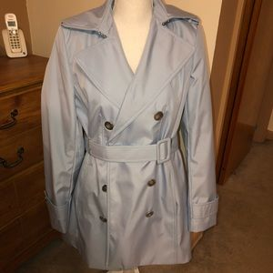 Calvin Klein Trench Coat Size Small